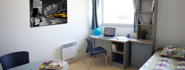 Résidence étudiante Lyon 3 - studio étudiant Grange Blanche ...